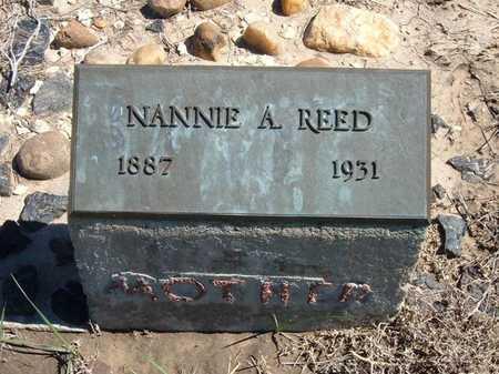 REED, NANNIE A - Finney County, Kansas   NANNIE A REED - Kansas Gravestone Photos