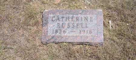 RUSSEL, CATHERINE - Finney County, Kansas | CATHERINE RUSSEL - Kansas Gravestone Photos