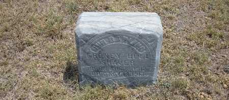 SHAVER, FRONEY BELL - Finney County, Kansas | FRONEY BELL SHAVER - Kansas Gravestone Photos