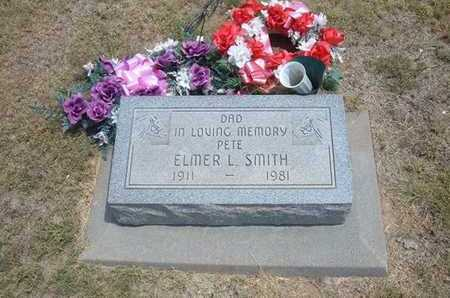 "SMITH, ELMER L ""PETE"" - Finney County, Kansas | ELMER L ""PETE"" SMITH - Kansas Gravestone Photos"