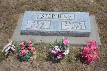 STEPHENS, G NELSON - Finney County, Kansas   G NELSON STEPHENS - Kansas Gravestone Photos