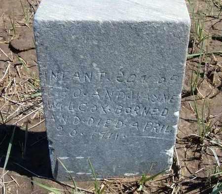 WILCOX, INFANT SON - Finney County, Kansas | INFANT SON WILCOX - Kansas Gravestone Photos