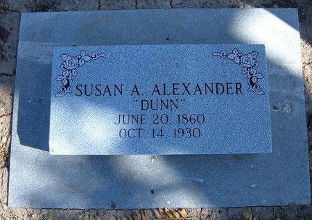 WILSON ALEXANDER, SUSAN ALICE DUNN - Finney County, Kansas   SUSAN ALICE DUNN WILSON ALEXANDER - Kansas Gravestone Photos