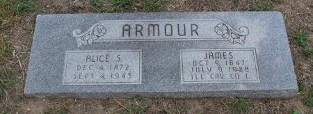 ARMOUR, ALICE S - Ford County, Kansas | ALICE S ARMOUR - Kansas Gravestone Photos