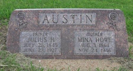 HOWE AUSTIN, MINA  - Ford County, Kansas   MINA  HOWE AUSTIN - Kansas Gravestone Photos