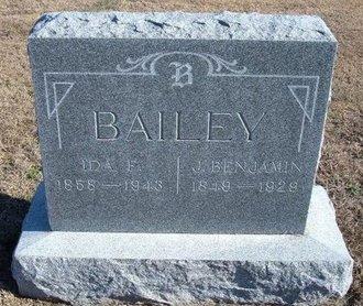 BAILEY, IDA ELLEN - Ford County, Kansas | IDA ELLEN BAILEY - Kansas Gravestone Photos