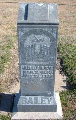BAILEY, J  D - Ford County, Kansas | J  D BAILEY - Kansas Gravestone Photos