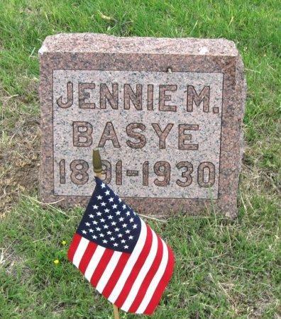 BAYSE, JENNIE M - Ford County, Kansas | JENNIE M BAYSE - Kansas Gravestone Photos