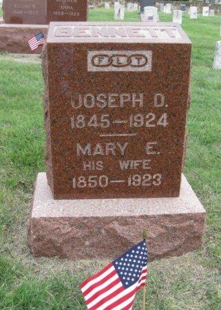 BENNETT, MARY E - Ford County, Kansas   MARY E BENNETT - Kansas Gravestone Photos
