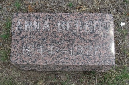 BERNDT, ANNA - Ford County, Kansas   ANNA BERNDT - Kansas Gravestone Photos