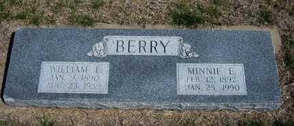 BERRY, MINNIE E - Ford County, Kansas | MINNIE E BERRY - Kansas Gravestone Photos