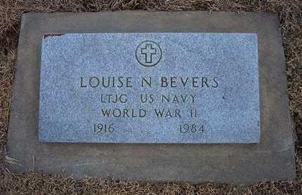 BEVERS, LOUISE N  (VETERAN WWII) - Ford County, Kansas | LOUISE N  (VETERAN WWII) BEVERS - Kansas Gravestone Photos