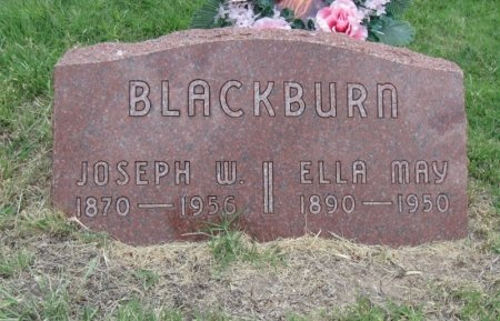BLACKBURN, JOSEPH WILLIAM (VETERAN WWI) - Ford County, Kansas | JOSEPH WILLIAM (VETERAN WWI) BLACKBURN - Kansas Gravestone Photos
