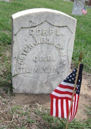 BLACKMAN, JAMES FOSTER (VETERAN UNION) - Ford County, Kansas | JAMES FOSTER (VETERAN UNION) BLACKMAN - Kansas Gravestone Photos