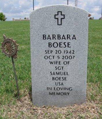 BOESE, BARBARA K - Ford County, Kansas | BARBARA K BOESE - Kansas Gravestone Photos
