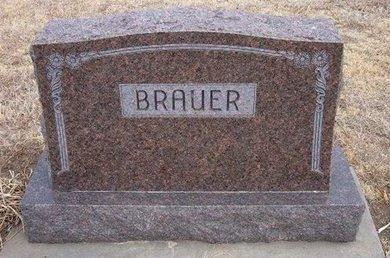 BRAUER, FAMILY STONE - Ford County, Kansas | FAMILY STONE BRAUER - Kansas Gravestone Photos