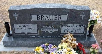 STIRN BRAUER, ROSA M - Ford County, Kansas | ROSA M STIRN BRAUER - Kansas Gravestone Photos