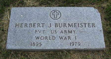 BURMEISTER, HERBERT JOHN (VETERAN WWI) - Ford County, Kansas | HERBERT JOHN (VETERAN WWI) BURMEISTER - Kansas Gravestone Photos
