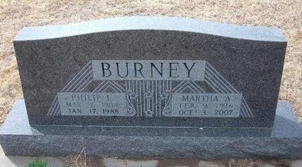 BURNEY, PHILLIP L - Ford County, Kansas | PHILLIP L BURNEY - Kansas Gravestone Photos