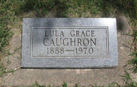 CAUGHRON, LULA GRACE - Ford County, Kansas   LULA GRACE CAUGHRON - Kansas Gravestone Photos