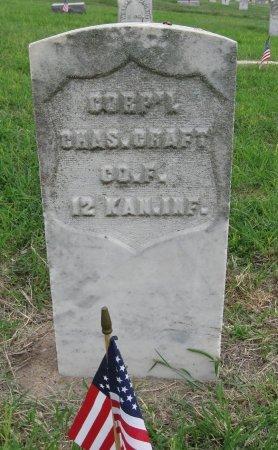 CRAFT, CHARLES (VETERAN UNION) - Ford County, Kansas   CHARLES (VETERAN UNION) CRAFT - Kansas Gravestone Photos