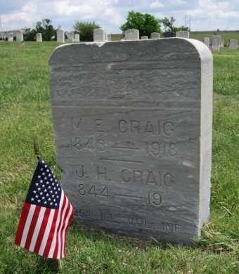 MCCOY CRAIG, MARY E - Ford County, Kansas | MARY E MCCOY CRAIG - Kansas Gravestone Photos
