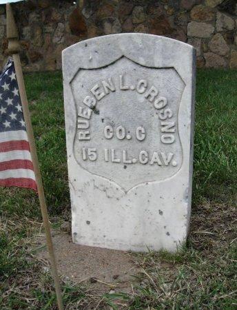 CROSNO, REUBEN LEONARD (VETERAN UNION) - Ford County, Kansas | REUBEN LEONARD (VETERAN UNION) CROSNO - Kansas Gravestone Photos