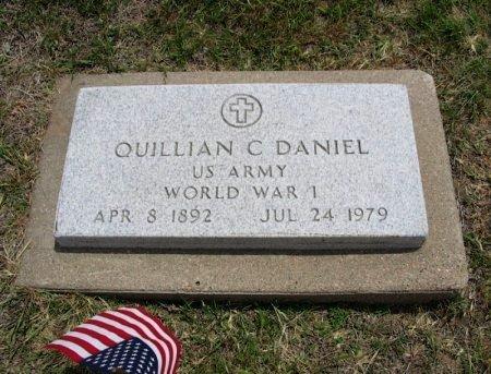 DANIEL, QUILLIAN C (VETERAN WWI) - Ford County, Kansas   QUILLIAN C (VETERAN WWI) DANIEL - Kansas Gravestone Photos