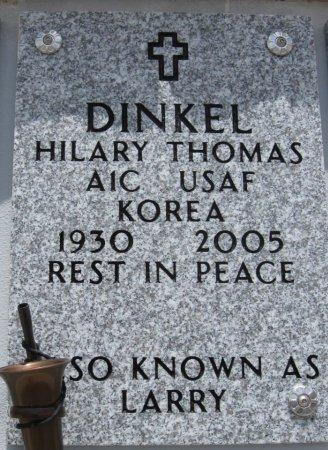 "DINKEL, HILARY THOMAS ""LARRY"" (VETERAN KOR) - Ford County, Kansas   HILARY THOMAS ""LARRY"" (VETERAN KOR) DINKEL - Kansas Gravestone Photos"