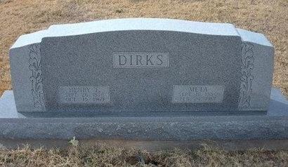 DIRKS, HENRY F - Ford County, Kansas   HENRY F DIRKS - Kansas Gravestone Photos