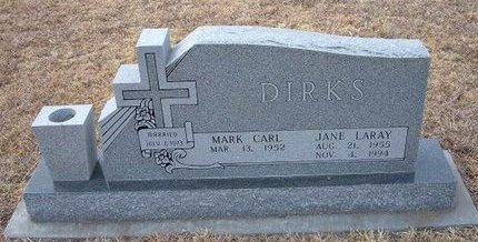 DIRKS, JANE LARAY - Ford County, Kansas | JANE LARAY DIRKS - Kansas Gravestone Photos