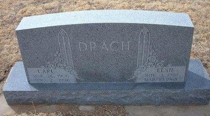 DRACH, ELSIE - Ford County, Kansas | ELSIE DRACH - Kansas Gravestone Photos
