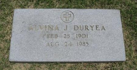 DURYEA, ALVINA JANE - Ford County, Kansas | ALVINA JANE DURYEA - Kansas Gravestone Photos