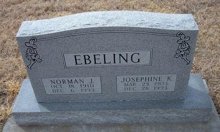 EBELING, NORMAN J - Ford County, Kansas | NORMAN J EBELING - Kansas Gravestone Photos