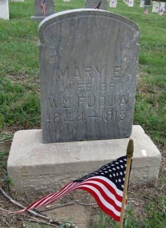 FUQUA, MARY E - Ford County, Kansas   MARY E FUQUA - Kansas Gravestone Photos