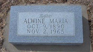 GERDES, ALWINE MARIA - Ford County, Kansas | ALWINE MARIA GERDES - Kansas Gravestone Photos