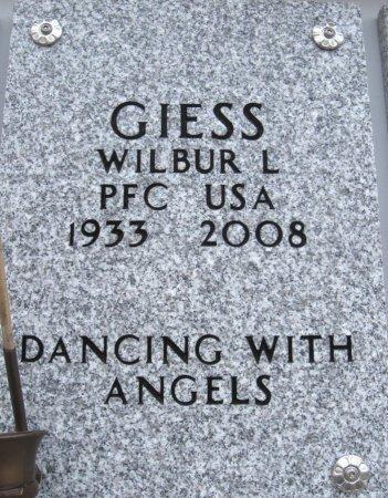 GIESS, WILBUR LLOYD (VETERAN) - Ford County, Kansas   WILBUR LLOYD (VETERAN) GIESS - Kansas Gravestone Photos