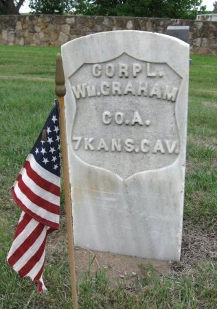 GRAHAM, WILLIAM (VETERAN UNION) - Ford County, Kansas | WILLIAM (VETERAN UNION) GRAHAM - Kansas Gravestone Photos