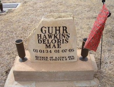 HAWKINS GUHR, DELORIS MAE - Ford County, Kansas | DELORIS MAE HAWKINS GUHR - Kansas Gravestone Photos