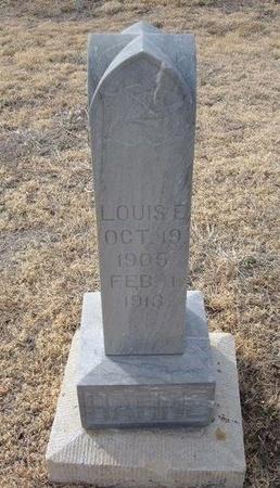 HAHNE, LOUISE  E - Ford County, Kansas | LOUISE  E HAHNE - Kansas Gravestone Photos