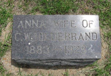 HILDEBRAND, ANNA - Ford County, Kansas | ANNA HILDEBRAND - Kansas Gravestone Photos
