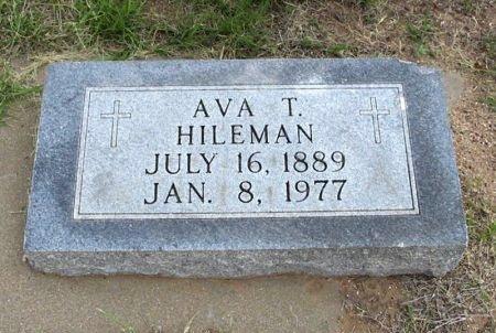 RIPPETOE HILEMAN, AVA TECKLEY - Ford County, Kansas | AVA TECKLEY RIPPETOE HILEMAN - Kansas Gravestone Photos