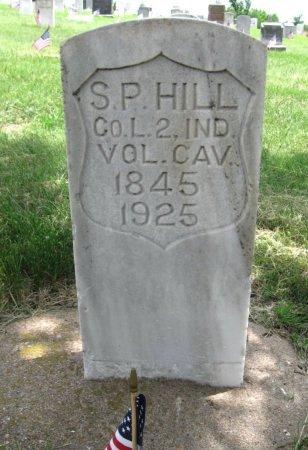 HILL, SYLVESTER P (VETERAN UNION) - Ford County, Kansas | SYLVESTER P (VETERAN UNION) HILL - Kansas Gravestone Photos