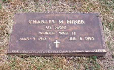 HINER, CHARLES MEREDITH (VETERAN WWII) - Ford County, Kansas   CHARLES MEREDITH (VETERAN WWII) HINER - Kansas Gravestone Photos
