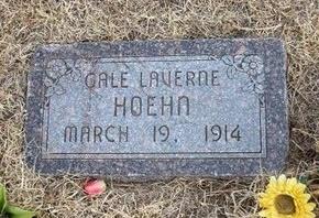 HOEHN, GALE LAVERNE - Ford County, Kansas | GALE LAVERNE HOEHN - Kansas Gravestone Photos