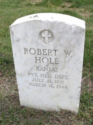 HOLE, ROBERT W (VETERAN WWI) - Ford County, Kansas | ROBERT W (VETERAN WWI) HOLE - Kansas Gravestone Photos