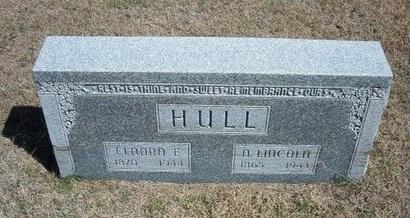 HULL, ELNORA E - Ford County, Kansas | ELNORA E HULL - Kansas Gravestone Photos