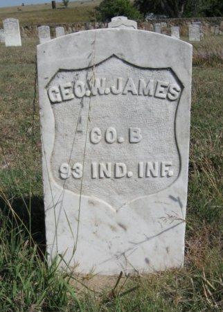 JAMES, GEORGE WASHINGTON (VETERAN UNION) - Ford County, Kansas | GEORGE WASHINGTON (VETERAN UNION) JAMES - Kansas Gravestone Photos