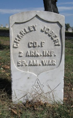 JOBERT, CHARLEY (VETERAN SAW) - Ford County, Kansas | CHARLEY (VETERAN SAW) JOBERT - Kansas Gravestone Photos