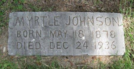 TULL JOHNSON, MYRTLE LULU - Ford County, Kansas   MYRTLE LULU TULL JOHNSON - Kansas Gravestone Photos